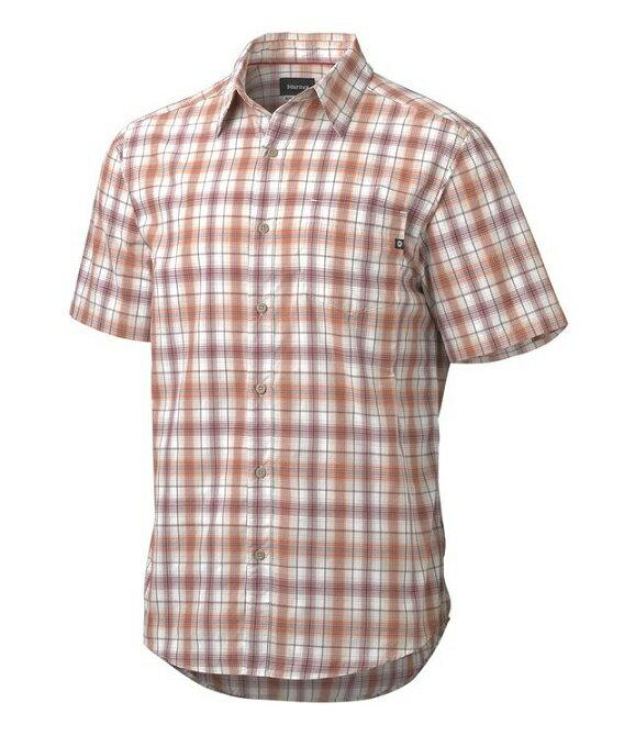Marmot 美國 | 男款 Northside 防曬快乾短袖襯衫 | 秀山莊 M5134