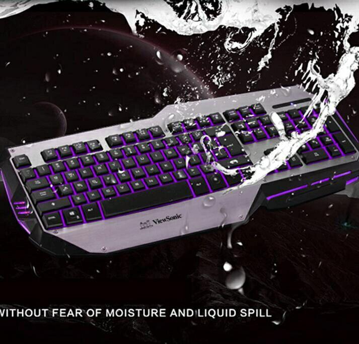 樂天精選-機械鍵盤 爆裂戰艦三背發光游戲鍵盤滑鼠套裝電競網吧金屬機械手感LOL