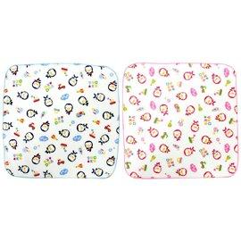 『121婦嬰用品館』PUKU 印花紗布手帕 2入(粉) - 30*30cm 0
