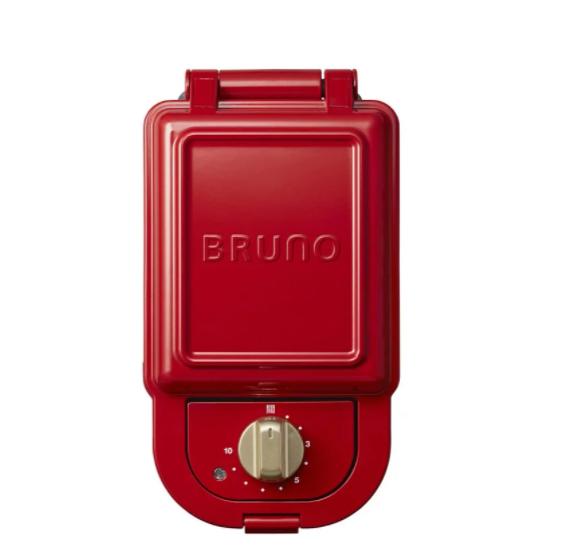 預購 日本BRUNO BOE043 熱壓三明治鬆餅機 紅色  原廠公司貨 保固一年