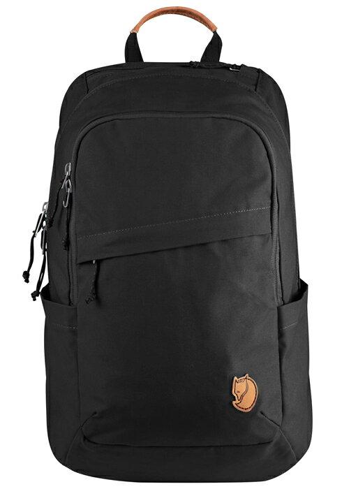 【鄉野情戶外專業】 Fjallraven |瑞典|  小狐狸 Raven 20L 筆電背包/G1000 復古後背包/26051 《黑色(550)》