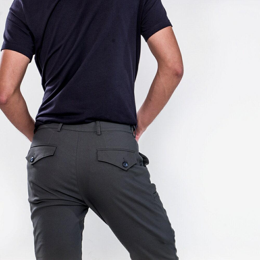 深邃灰八口袋商旅紳士褲 MANHATTAN GREY 8 POCKETS 3