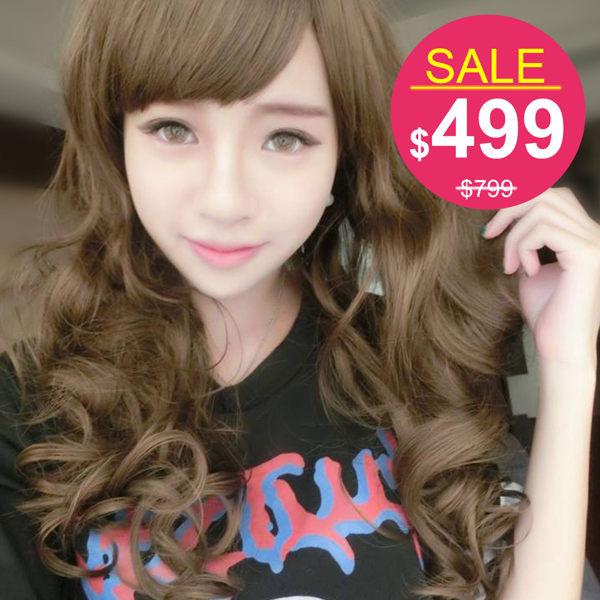 娃娃頭愛戀甜心芭比捲髮中長捲髮【742B】☆雙兒網☆ 0