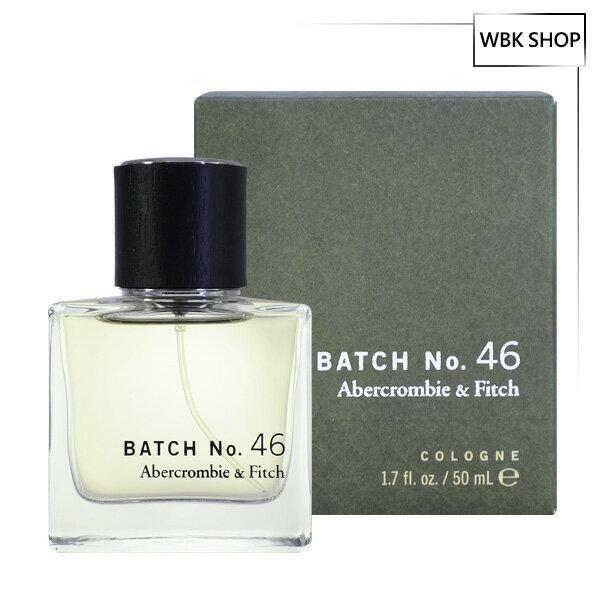 【買就送原裝紙袋】Abercrombie&FitchA&FAFBatchNo.46男性古龍水50mlCologne-WBKSHOP