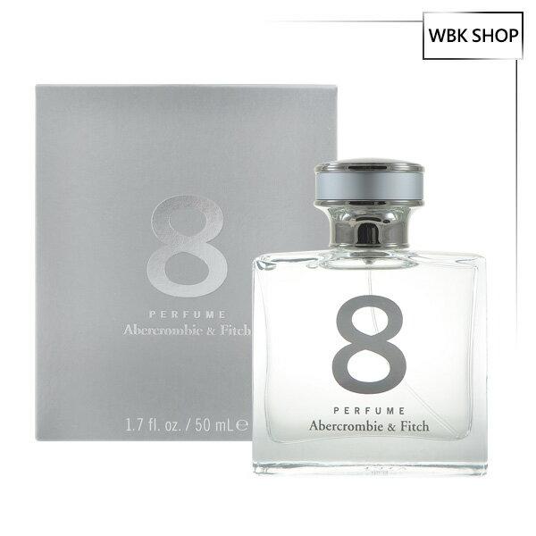 【買就送原裝紙袋】Abercrombie & Fitch A&F AF 8號香水 50ml(銀色) 8 Perfume - WBK SHOP