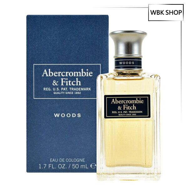 【買就送原裝紙袋】Abercrombie & Fitch A&F Woods 男性古龍水 50ml AF Cologne - WBK SHOP