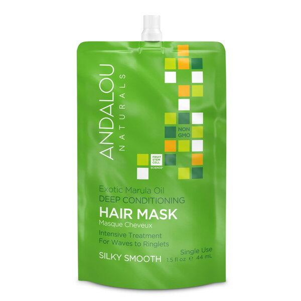 Andalou 安德魯 瑪乳拉果油系列 瑪乳拉果油柔順深層保濕護髮膜 44ml  單包 ~ WBK SHOP