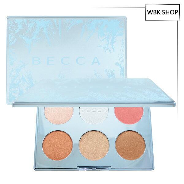 <br/><br/> Becca 限量6色高光腮紅修容盤 15.5g Apres Ski Glow Face Palette - WBK SHOP<br/><br/>
