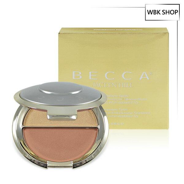 <br/><br/> Becca x Jaclyn Hill 聯名限量雙色腮紅打亮盤 7.95g #Prosecco POP / Amaretto - WBK SHOP<br/><br/>