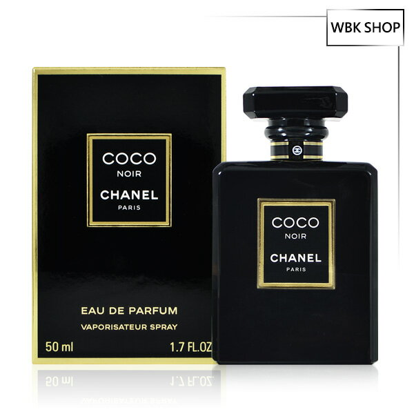 WBK SHOP:CHANEL香奈兒黑COCONOIR女性香水淡香精50mlEDP-WBKSHOP