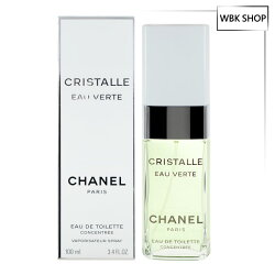 CHANEL 香奈兒 Cristalle 香水晨曦水晶版 淡香水 100ml Cristalle Eau Verte EDT - WBK SHOP