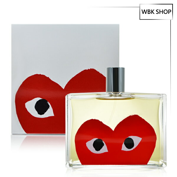 Comme des Garcons 川久保玲  紅愛心 中性淡香水 100ml PLAY Red - WBK SHOP