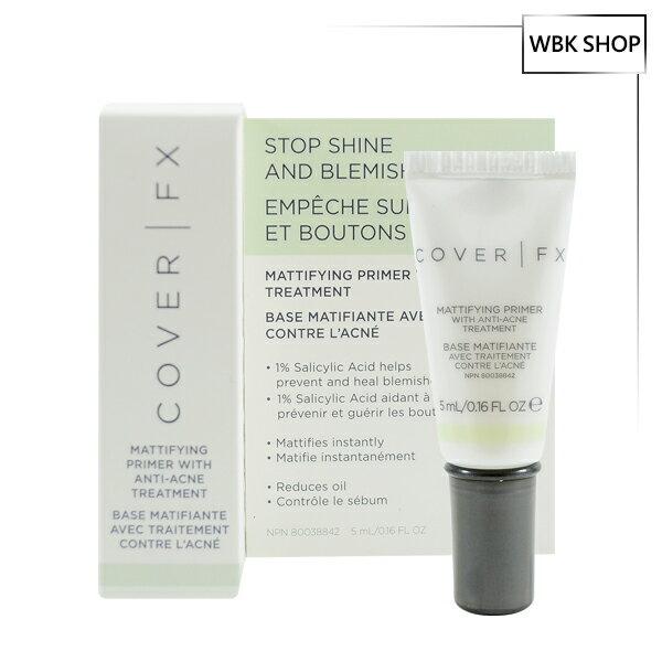 COVER FX 控油啞光妝前乳 5ml Mattifying Primer With Anti-Acne Treatment - WBK SHOP