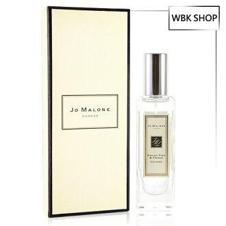 【買就送Amore Pacific體驗包,隨機出貨數不挑款】Jo Malone 英國梨與小蒼蘭 女性香水 30ml (含外盒、緞帶、提袋) - WBK SHOP