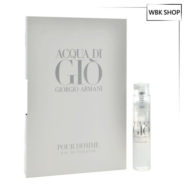 Giorgio Armani 寄情水男性淡香水 針管小香 1.2ml Acqua Di GIO - WBK SHOP