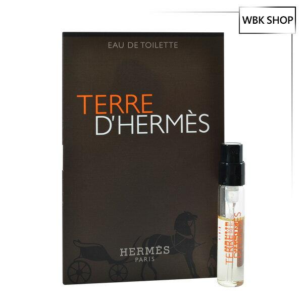 Hermes 愛馬仕 大地 男性淡香水 針管小香 2ml Terre D #x27 Her