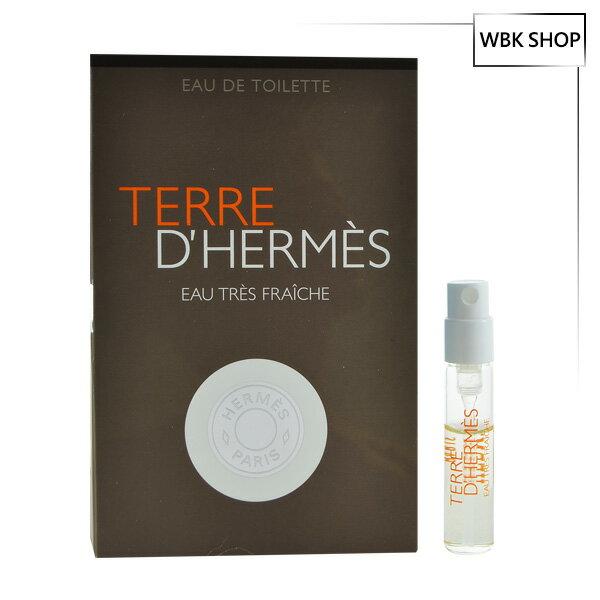 Hermes 愛馬仕 大地極致清新淡香水 針管小香 2ml  Terre D'hermes Eau De Toilette - WBK SHOP