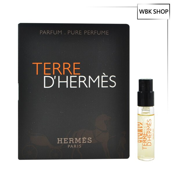 Hermes 愛馬仕 大地男性淡香精 針管小香 1.5ml Terre D #x27 he