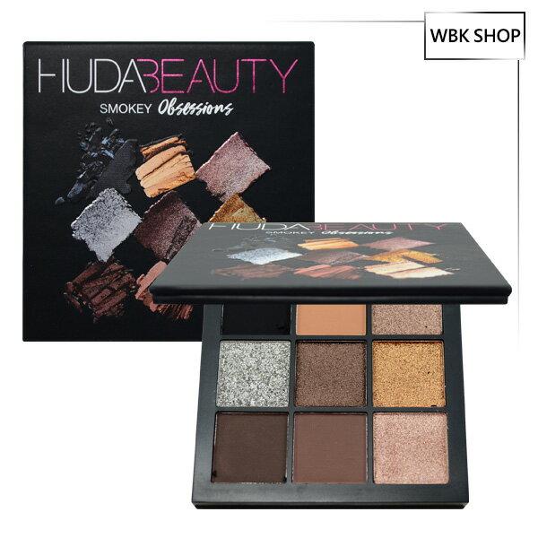 <br/><br/> Huda Beauty 痴迷系列 9色眼影盤 #Smokey 10g Obsessions Eyeshadow Palette - WBK SHOP<br/><br/>