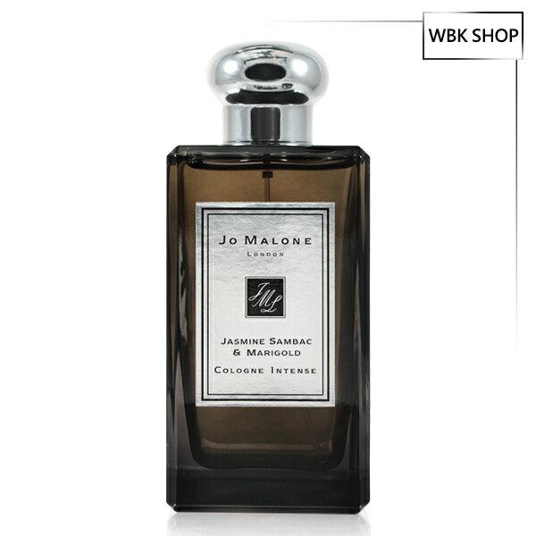JoMalone雙瓣茉莉與金盞花芳醇古龍水(黑瓶)100ml(含外盒、緞帶、提袋)-WBKSHOP