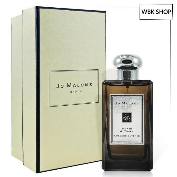 JoMalone沒藥與零陵香芳醇古龍水(黑瓶)100ml(含外盒、緞帶、提袋)-WBKSHOP