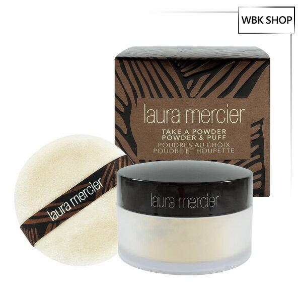 <br/><br/>  Laura Mercier 蘿拉蜜思 限量包裝(附贈粉撲)-柔光透明蜜粉 29g Take a Powder Powder & Puff - WBK SHOP<br/><br/>