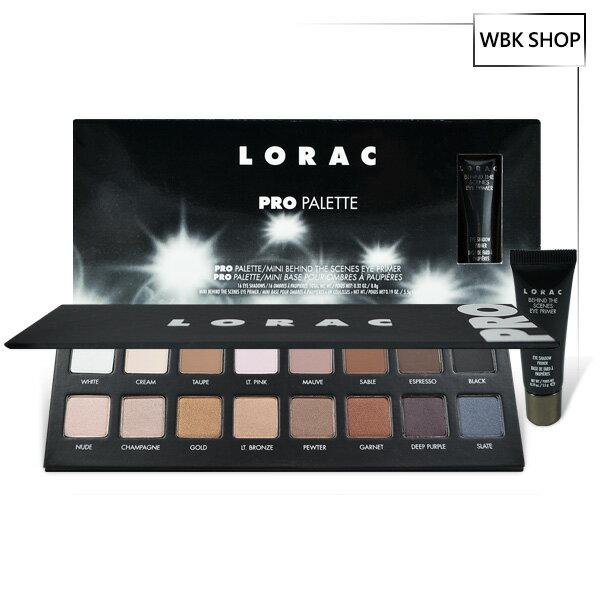 <br/><br/>  Lorac Pro 1 16色眼影盤+眼部打底膏 5.5g Pro Palette 1+Behind the Scenes Primer - WBK SHOP<br/><br/>