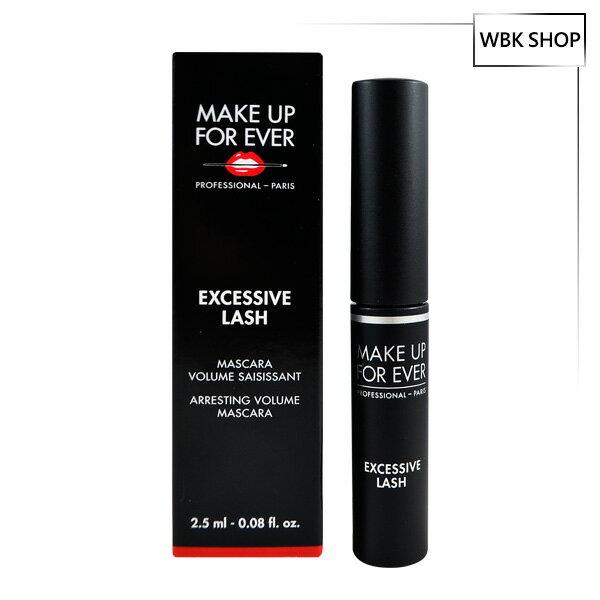 <br/><br/> Make Up For Ever 龐克豐盈睫毛膏 #01 Black 2.5ml Excessive Lash Arresting Volume Mascara - WBK SHOP<br/><br/>