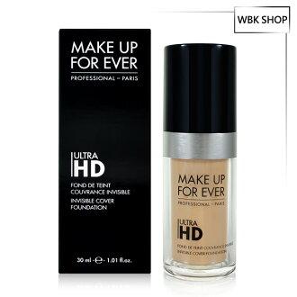 MAKE UP FOR EVER Ultra HD超進化無瑕粉底液 30ml Ultra HD (多色可選) - WBK SHOP