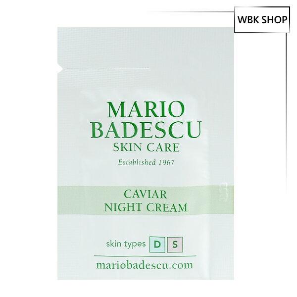 Mario Badescu 魚子醬晚霜 3g Caviar Night Cream - WBK SHOP