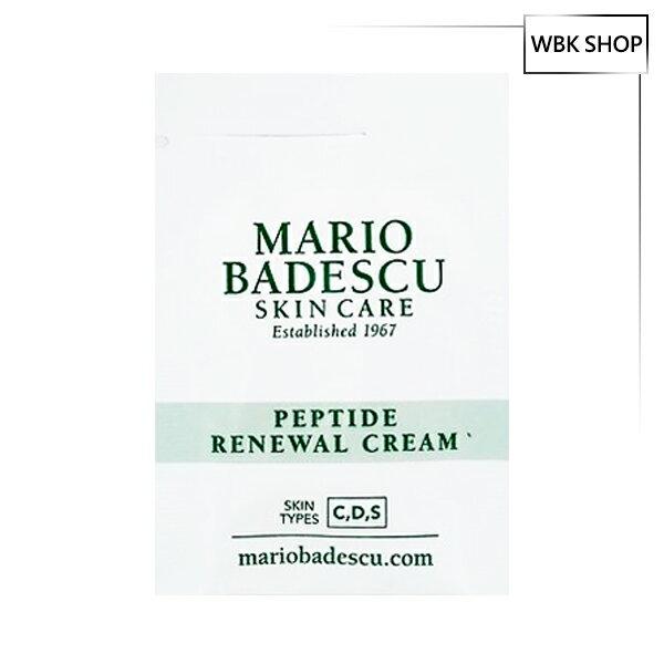 Mario Badescu 胜?煥膚霜 3g Peptide Renewal Cream - WBK SHOP