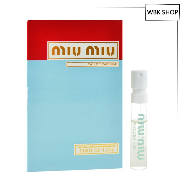 Miu Miu 女性淡香精 EDP 針管小香1.2ml - WBK SHOP