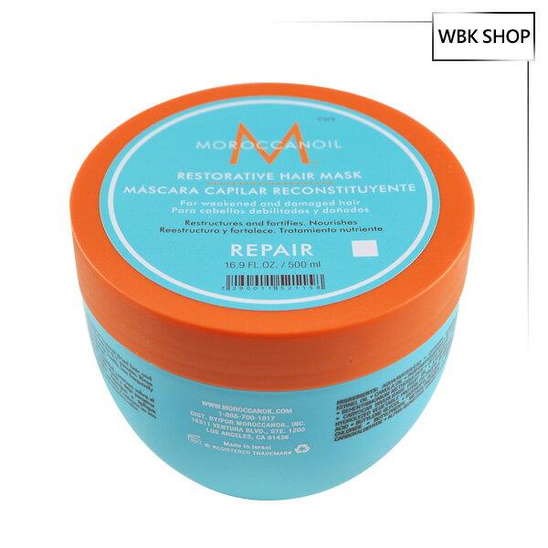 Moroccanoil 摩洛哥優油 優油高效修復髮膜 500ml Restorative Hair Mask - WBK SHOP - 限時優惠好康折扣