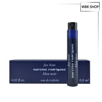 Narciso Rodriguez 紳藍男性淡香水 針管小香 0.8ml For Him Bleu Noir EDT - WBK SHOP