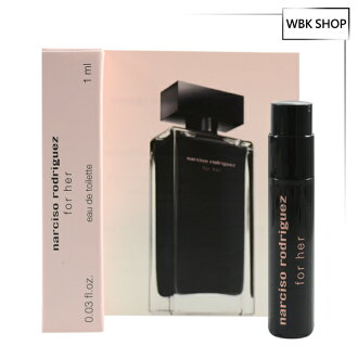 Narciso Rodriguez For Her 同名經典女香淡香水 針管小香 1ml For Her EDT - WBK SHOP