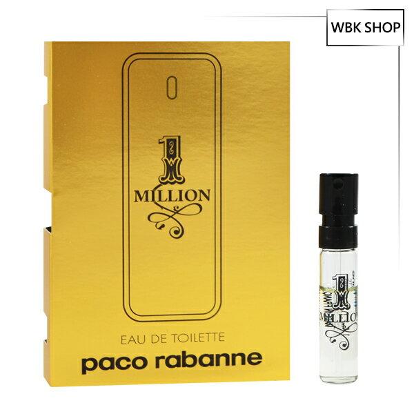 Paco Rabanne 百萬男性淡香水 針管小香 1.5ml Million EDT - WBK SHOP