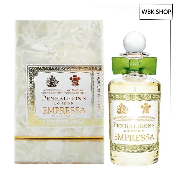 Penhaligon's潘海利根廣藿之匣女性淡香水100mlEmpressaEDT+頂級品牌針管小香隨機款x2-WBKSHOP