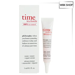 Philosophy 肌膚哲理 瓶中時光三效逆齡精萃 3ml  Time In Bottle Repair Serum - WBK SHOP
