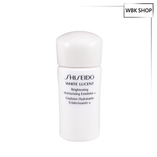 Shiseido 資生堂 美透白活膚乳(夜間用) 15ml White Lucent Brightening Moisturizing Emulsion W - WBK SHOP