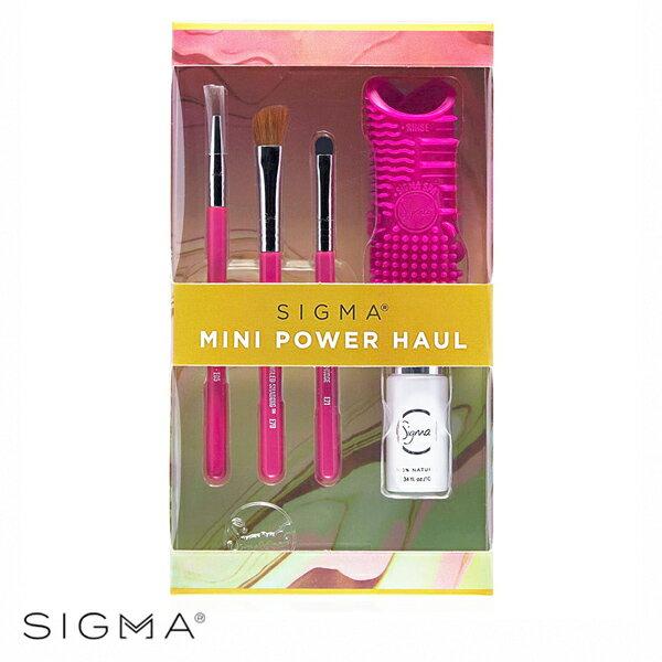 Sigma迷你眼部刷具+迷你刷具清潔組合MiniPowerHaulCollection-WBKSHOP