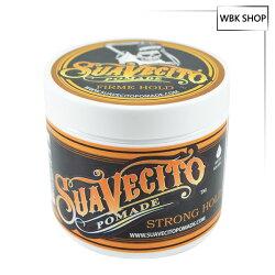 (盒損良品-瓶身裂或盒蓋裂)SuaVecito 強力款水洗式髮油 113g Firm Hold Pomade - WBK SHOP