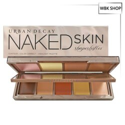 Urban Decay 9色高光打亮修容盤 #Medium Dark Shift (粉狀 3.7gx4+膏狀 2.15gx5) Naked Skin Shapeshifter - WBK SHOP