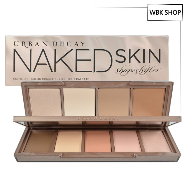 <br/><br/> Urban Decay 9色高光打亮修容盤 #Light Medium Shift (粉狀 3.7gx4+膏狀 2.15gx5) Naked Skin Shapeshifter - WBK SHOP<br/><br/>