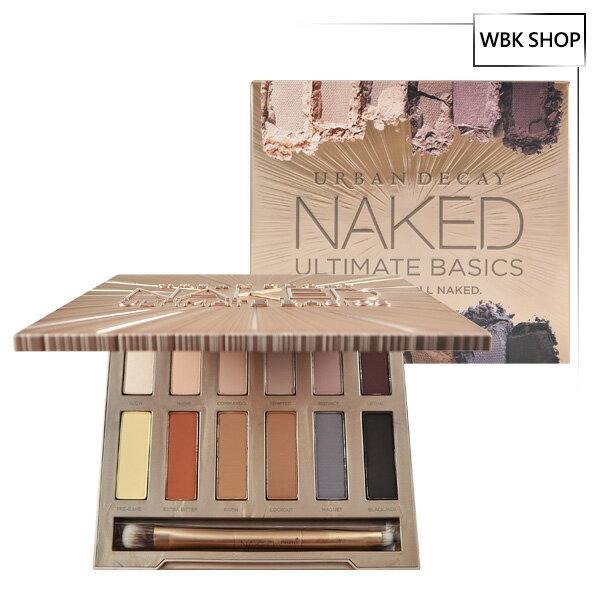 Urban Decay 12色霧面裸色眼影盤 (附眼影刷) Naked Ultimate Basics - WBK SHOP