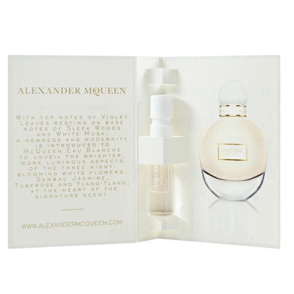 Alexander McQueen Eau Blanche 白花之水 女性淡香精 針管小香 1.5ml EDP - WBK SHOP 1