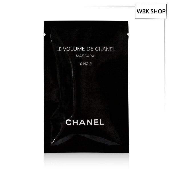 CHANEL 香奈兒 完美比例濃密睫毛膏 #10黑釉 1ml - WBK SHOP