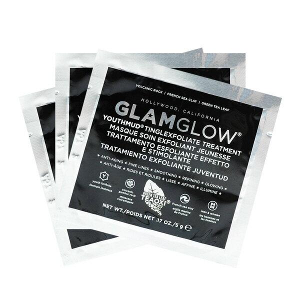 Glamglow瞬效完美發光面膜(黑)5g3入組-WBKSHOP