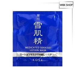 Kose 高絲 雪肌精水面膜 9ml 1入組 百貨公司貨 Medicated Sekkisei Lotion Mask  - WBK SHOP