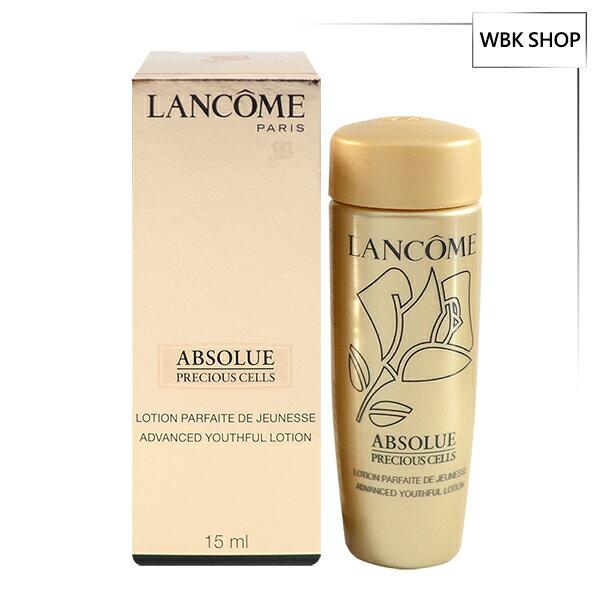 Lancome蘭蔻絕對完美極緻活化柔膚露15ml1入組百貨公司貨-WBKSHOP