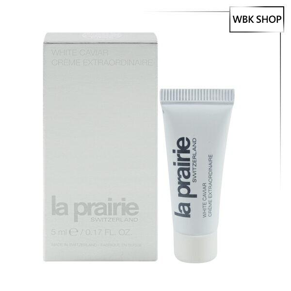 LaPrairie鑽白魚子時空聚光緊膚霜5mlWhiteCaviarCrèmeExtraordinare-WBKSHOP